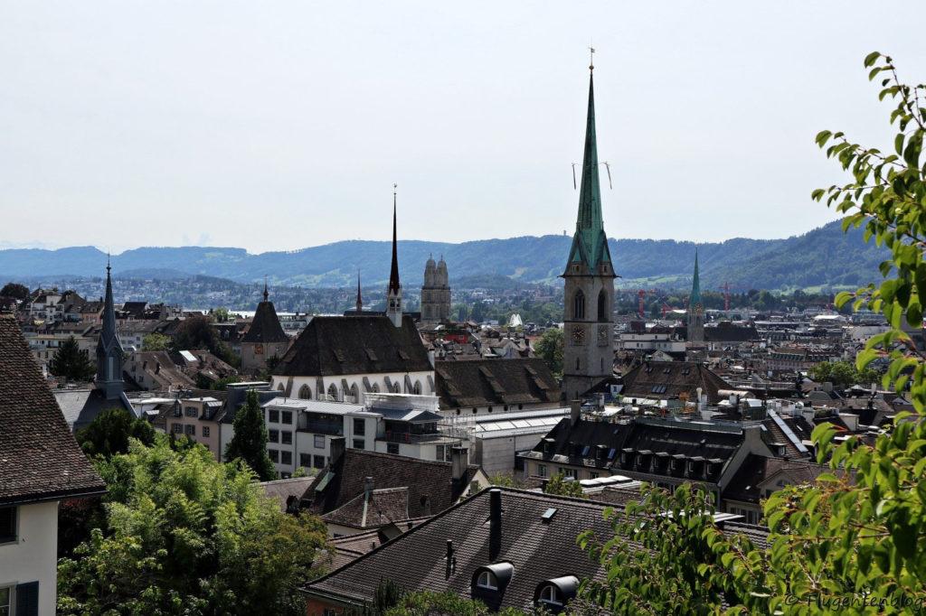 Zuerich-Aussicht-Universitaet-Turm