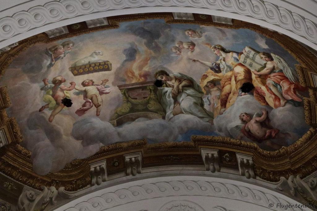 Wien Karlskirche Fresken