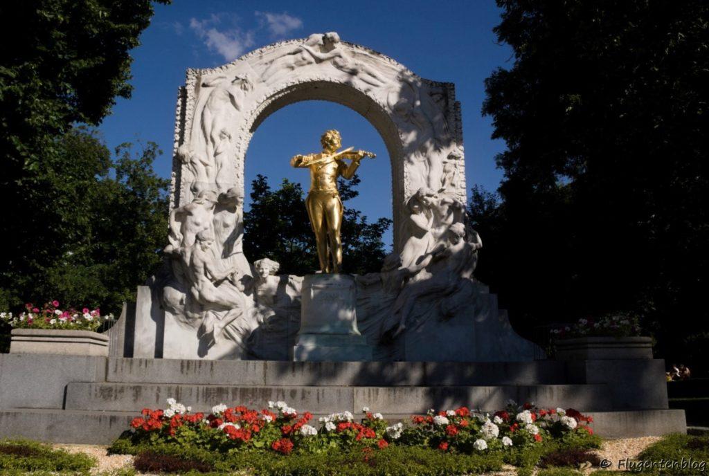 Wien Stadtpark Johann Strauss Denkmal