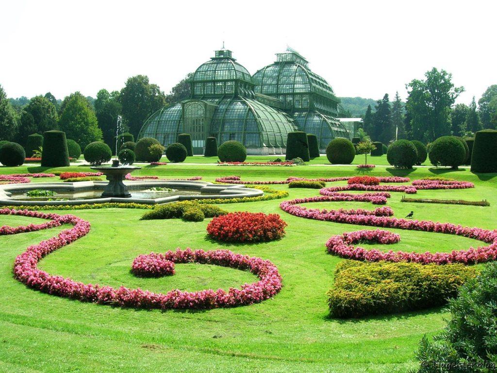 Wien Parks Schoenbrunn Palmenhaus