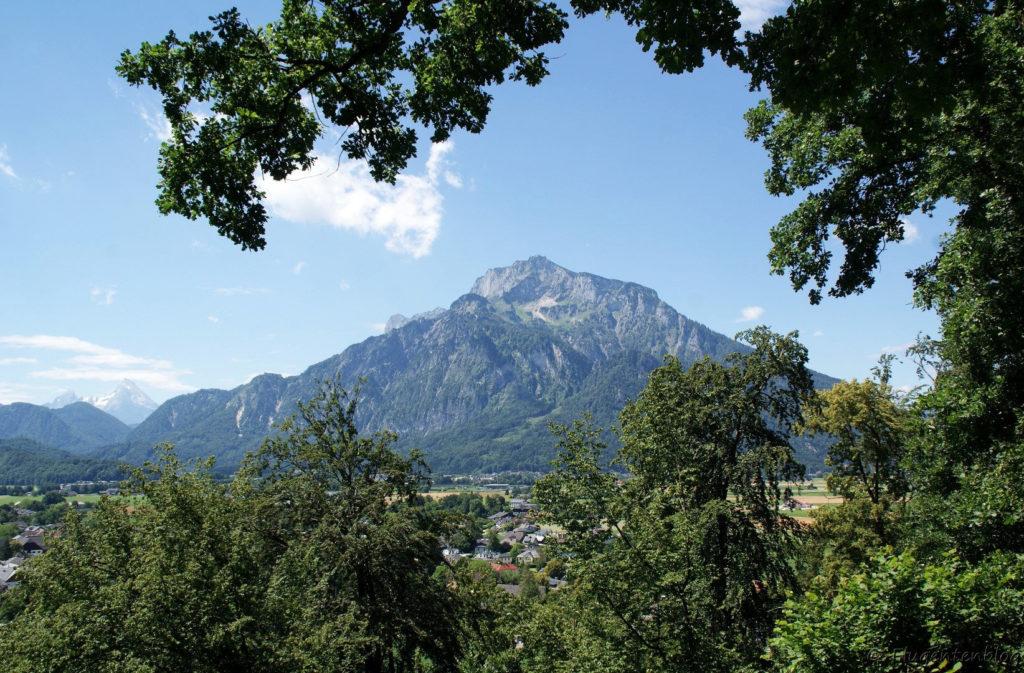 Salzburg Hellbrunn Watzmannsblick Untersberg