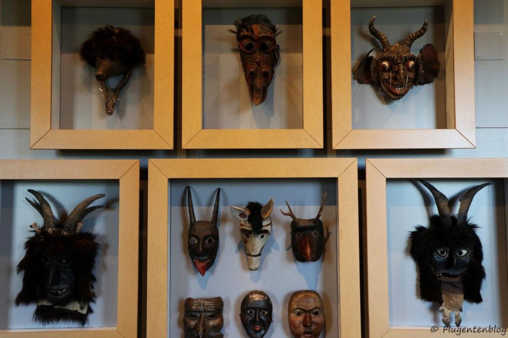 Salzburg Volkskunde Museum Perchten