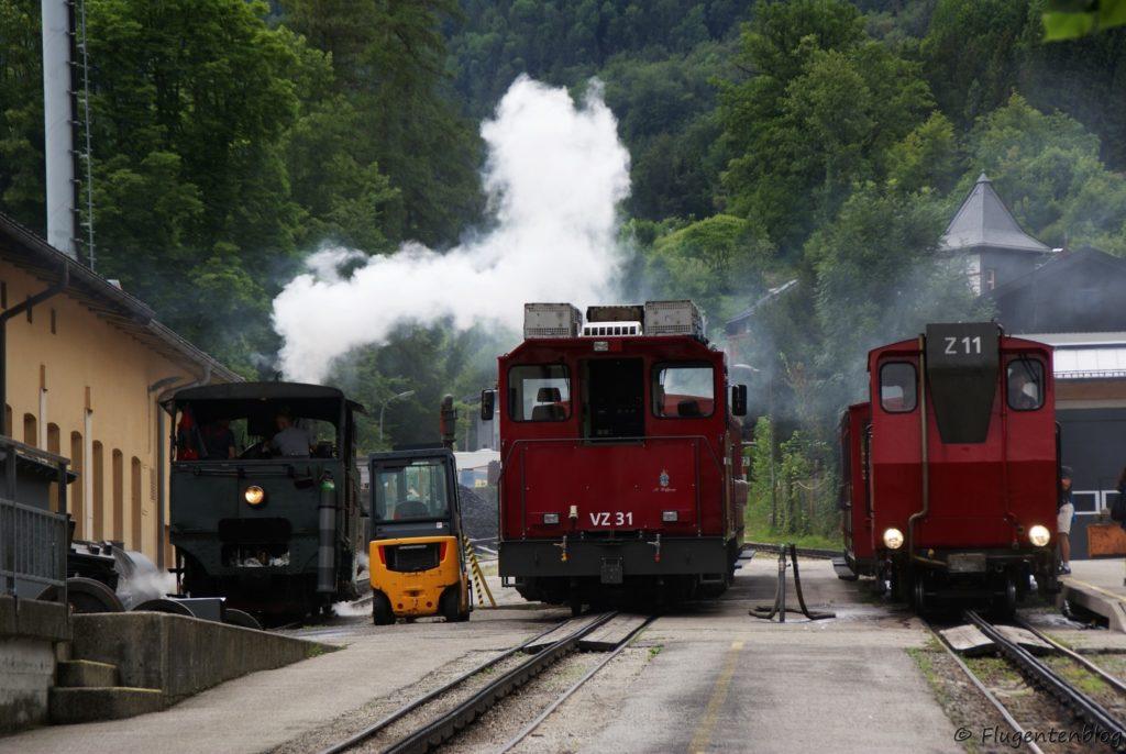Schafbergbahn Remise