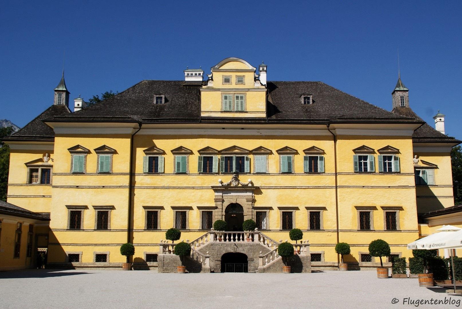 Oesterreich Schloesser Salzburg Hellbrunn
