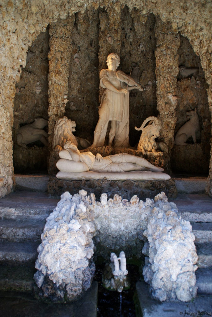 Schloss Hellbrunn Wasserspiele Orpheusgrotte