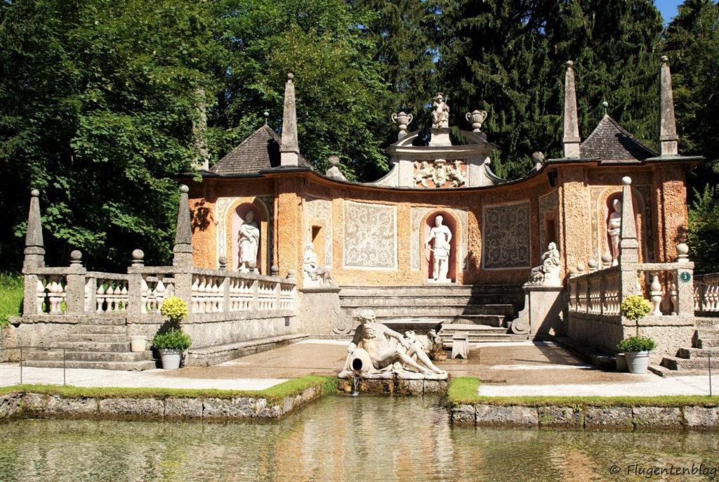 Schloss Hellbrunn Wasserspiele Theatrum