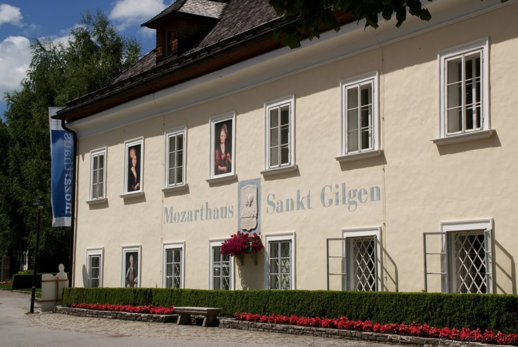Wolfgangsee St. Gilgen Mozarthaus