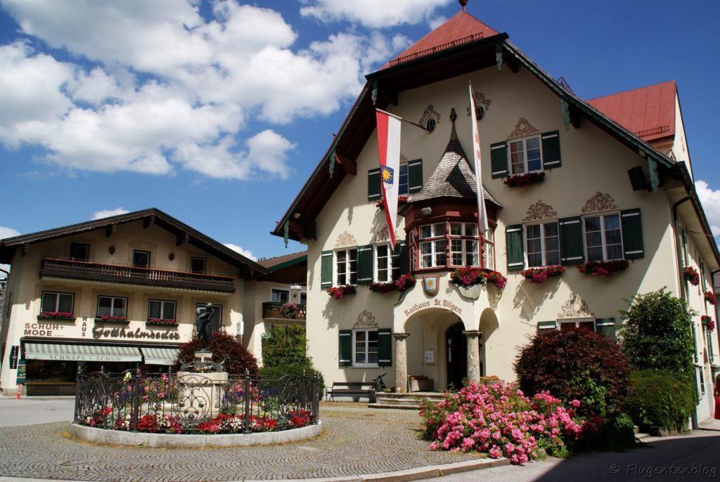 St. Gilgen Wolfgangsee Rathaus