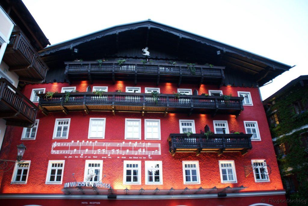 Wolfgangsee Hotel Weisses Roessl