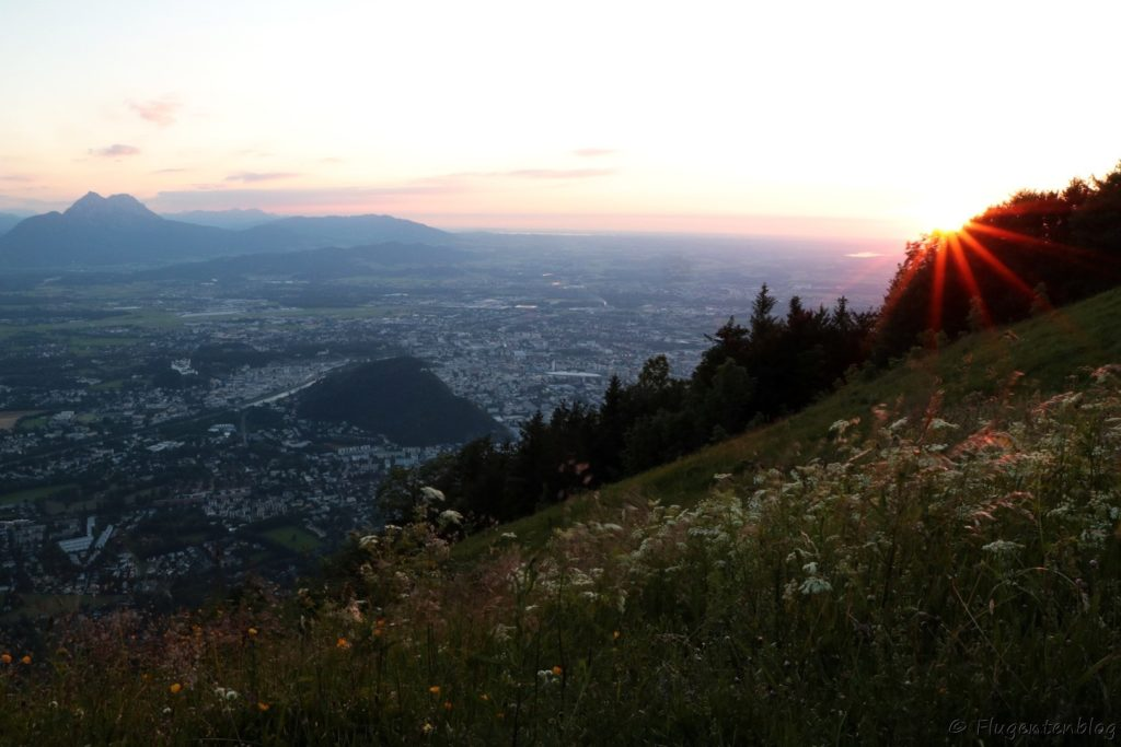 Salzburg Sonnenuntergang Gaisberg