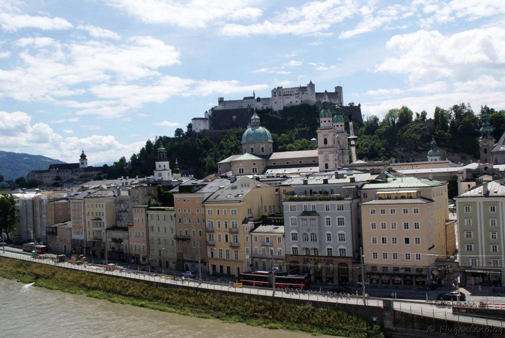 Salzburg Restaurant Stein Terrasse Ausblick