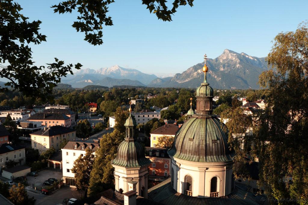 Salzburg Ausblick vom Stift Nonnberg