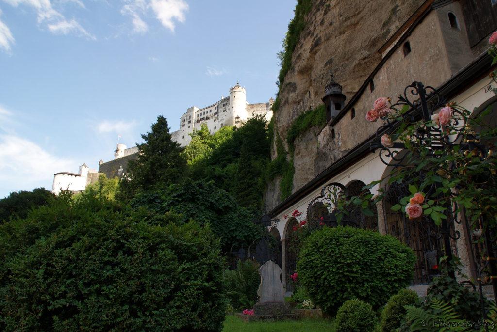 Salzburg Sehenswürdigkeiten Festung Katakomben