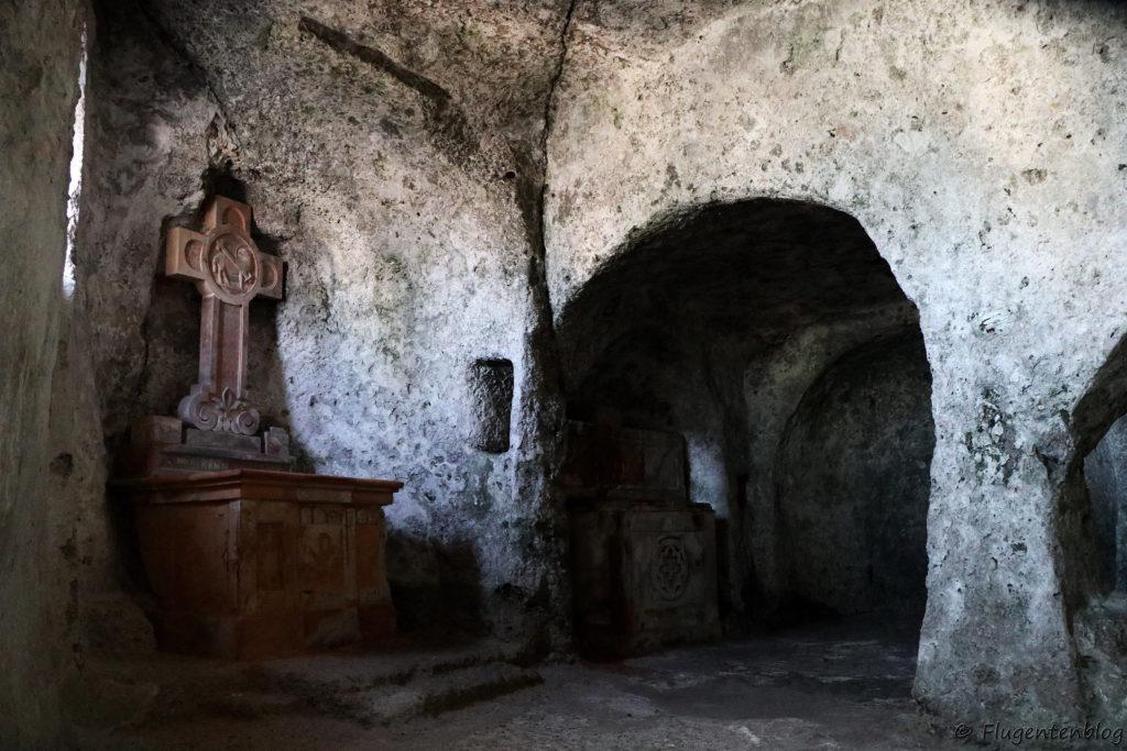 Salzburg Sehenswürdigkeiten Katakomben Maximuskapelle