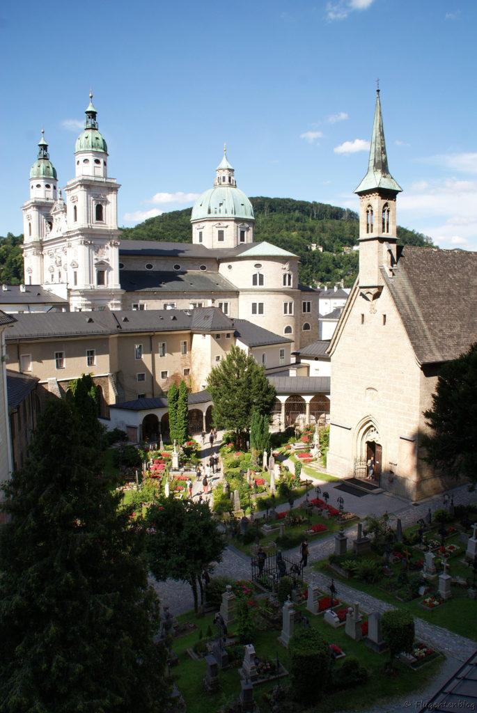Salzburg Ausblick Katakomben