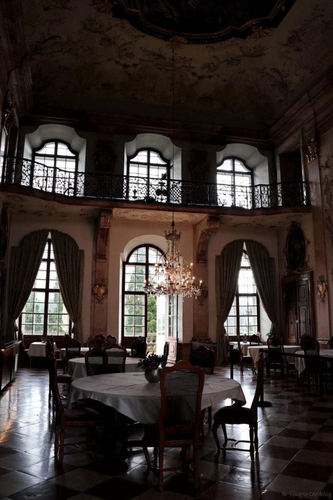 Salzburg Schloss Leopoldskron Marmorsaal