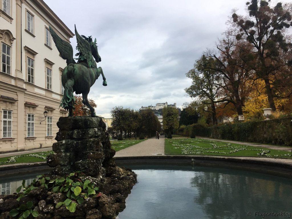 Salzburg Mirabell Pegasusbrunnen
