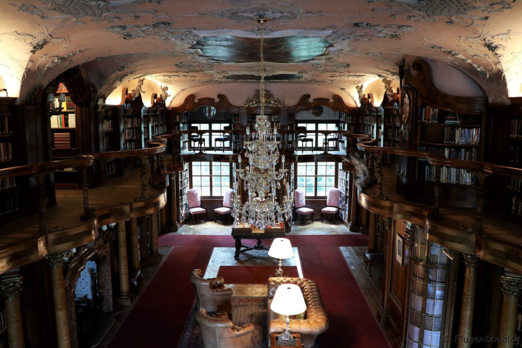 Schloss Leopoldskron Bibliothek