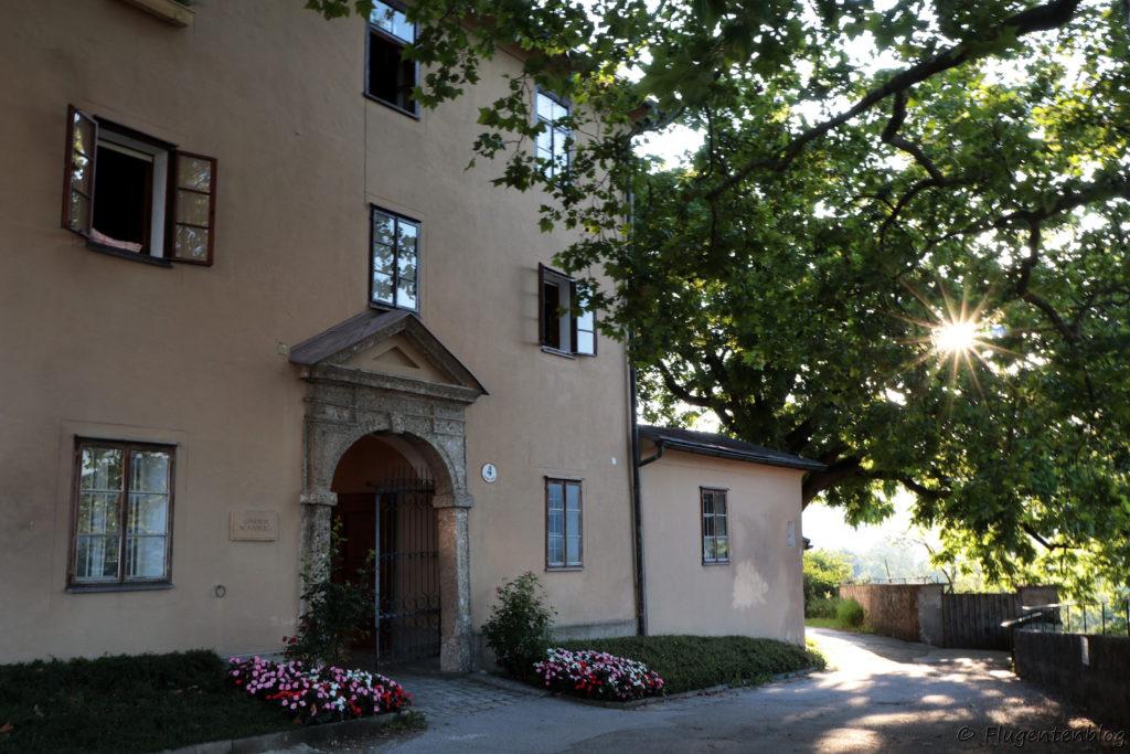Salzburg Sehenswuerdigkeiten Stift Nonnberg
