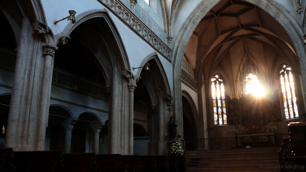 Salzburg Sehenswuerdigkeiten Nonnberg Kirche