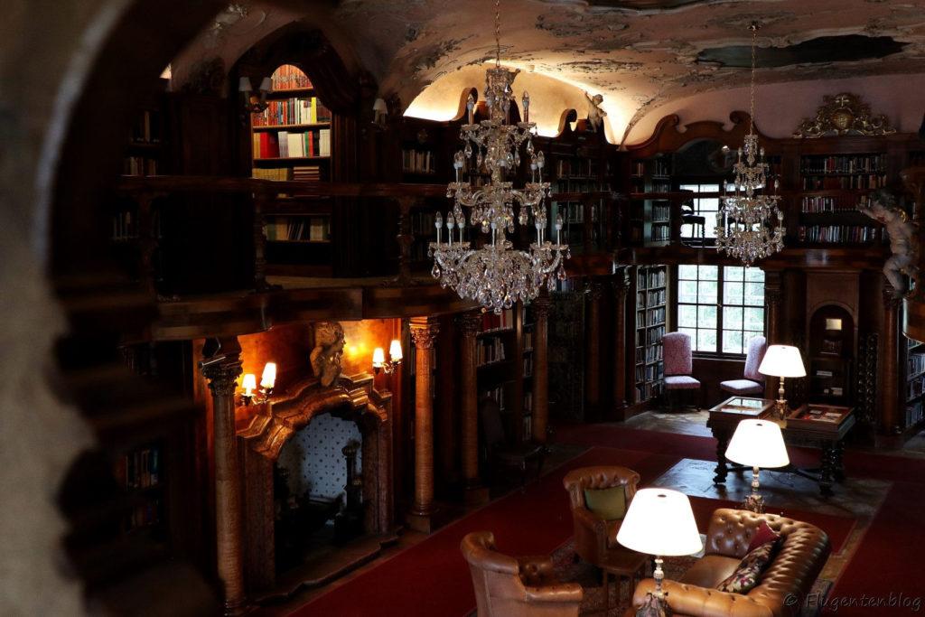 Salzburg Schloss Leopoldskron Bibliothek