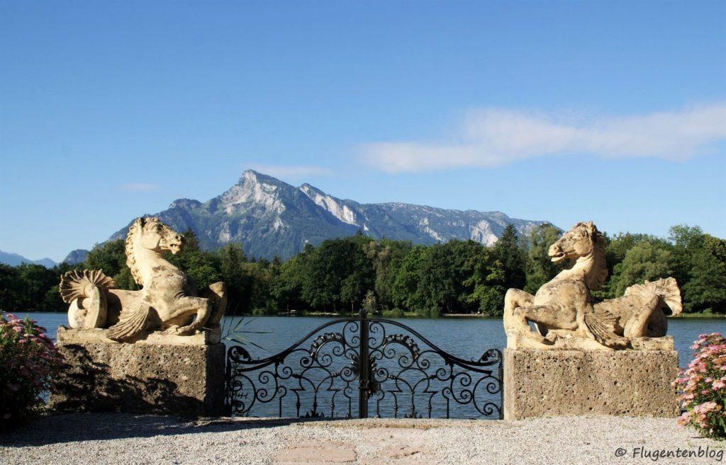 Sound of Music Salzburg Leopoldskron Seepferdchen