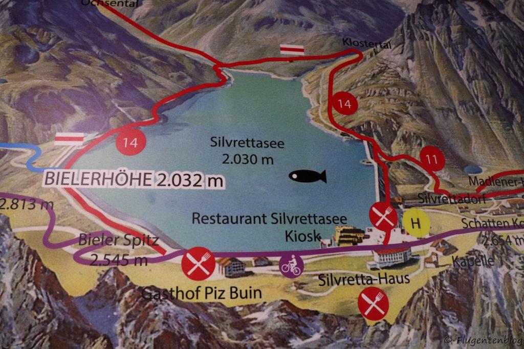Montafon Urlaub Ausflug Bielerhöhe
