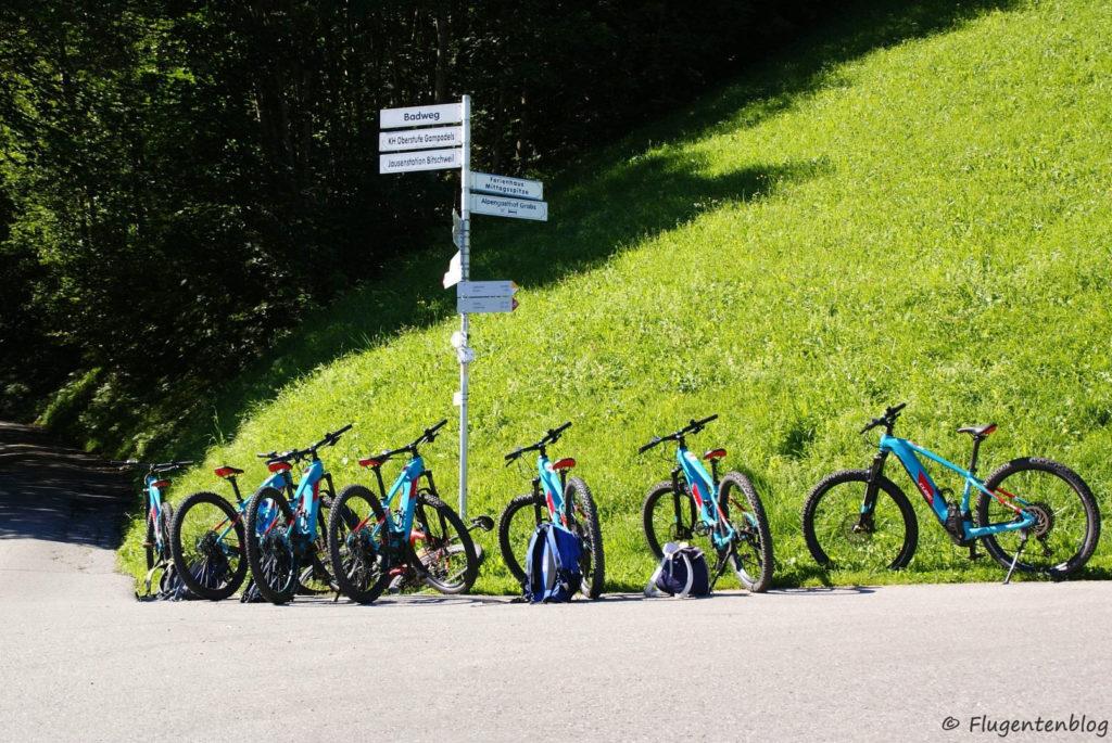 Montafon Radfahren E-Bike Tilisunahuette
