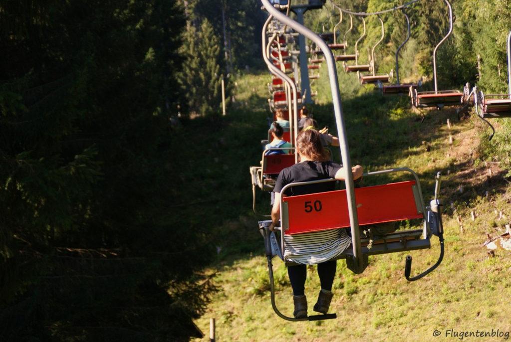 Montafon Urlaub Wandern Garfreschabahn