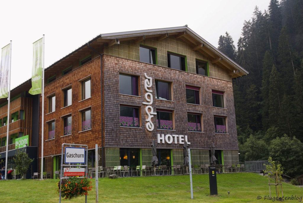 Montafon Unterkunft Hotel Explorer