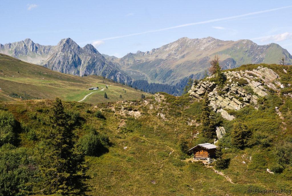 Montafon Urlaub Wandern Panoramaweg Gantakopf