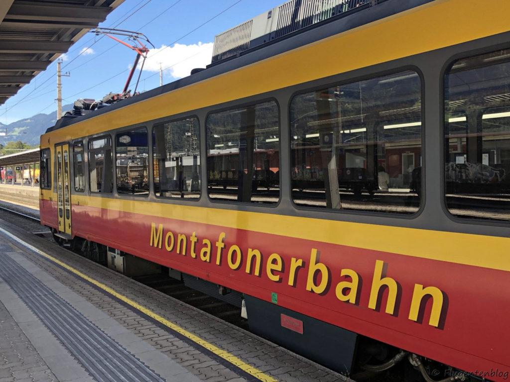 Montafon Anreise Bahn